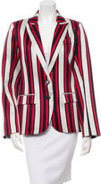 Smythe Striped Blazer w/ Tags