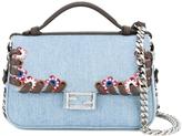 Fendi Mini Baguette Denim Bag