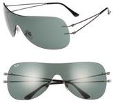Ray-Ban 60mm Shield Sunglasses