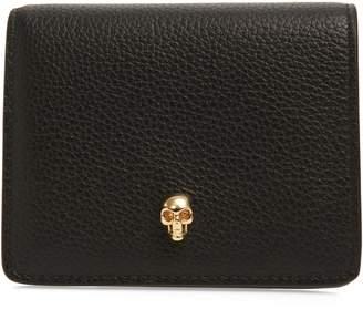 Alexander McQueen Leather Card Case