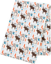 Trend Lab 48'' x 48'' Scandi Forest Jumbo Deluxe Swaddle Blanket