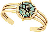 Lucky Brand Mosaic Turquoise Reversible Cuff Bracelet