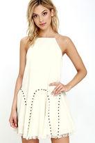 Moon River Windfall Find Cream Dress