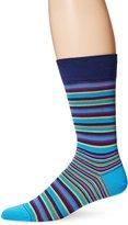 Bugatchi Men's Stripe In Time Mens Fancy Sock