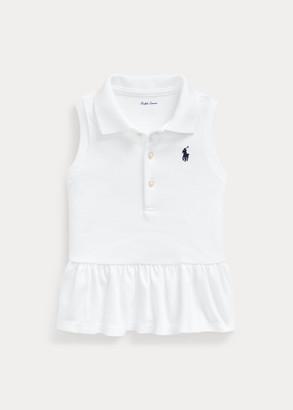 Ralph Lauren Sleeveless Mesh Polo Shirt