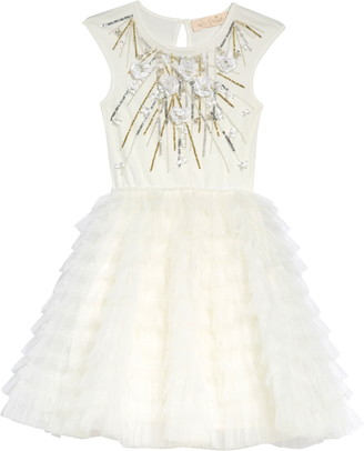 Tutu Du Monde Kids' Falling Snow Tutu Dress