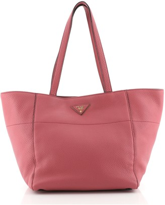Prada Open Tote Vitello Daino Small