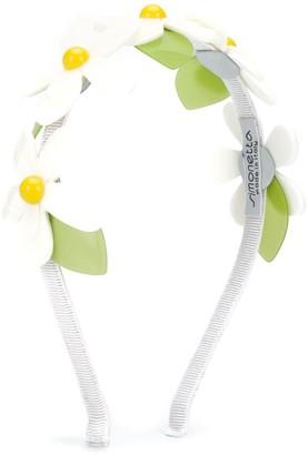 Simonetta Floral-Embellished Headband