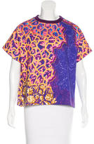 Peter Pilotto Short Sleeve Abstract Print Sweatshirt w/ Tags