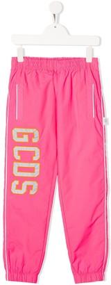 Gcds Kids Logo Patch Track Trousers