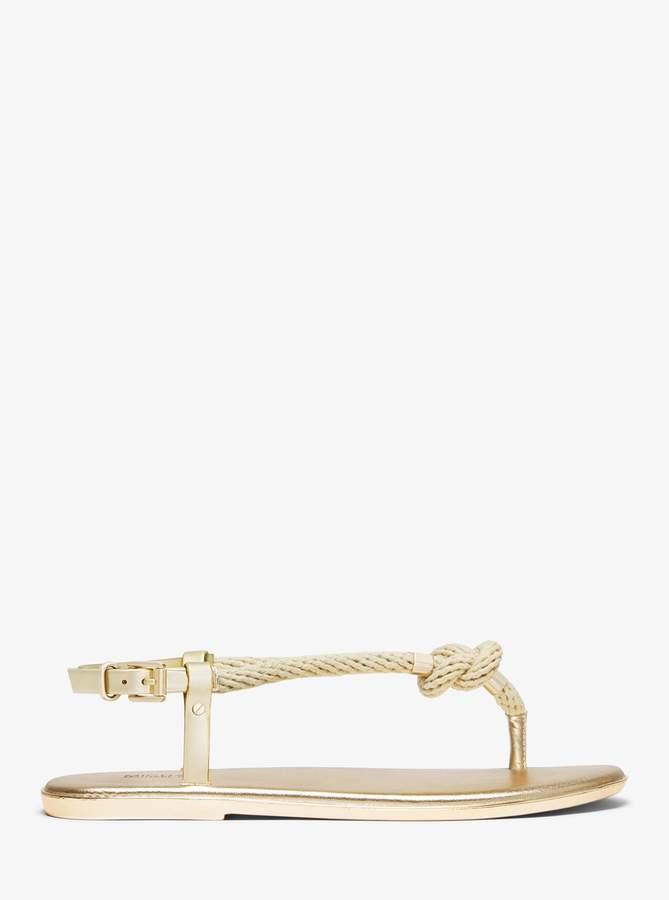 Holly Rope Sandal Metallic Trim Trim Metallic Holly Sandal Rope nPkwXO80