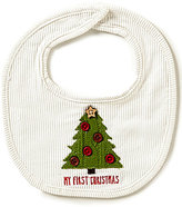 Mud Pie Baby My First Christmas Tree Bib