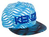 Kenzo Logo-Embroidered Fitted Cap