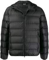 Ea7 Emporio Armani short padded jacket