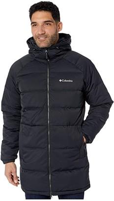 Columbia Macleaytm Down Long Jacket (Black) Men's Coat