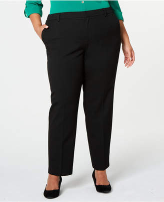 Charter Club Plus Size Slim-Leg Ankle Pants