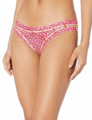 OndadeMar Women's Canister Medium Coverage Bikini Bottom