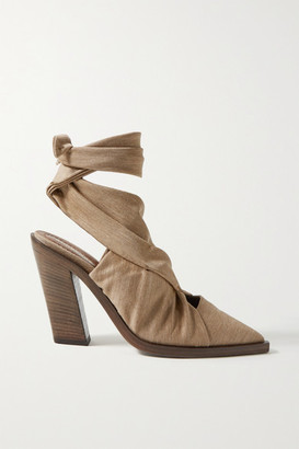 Burberry Stretch-jersey Pumps - Light brown