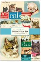 Cavallini & Co. 12-Pack Petite Vintage Cats Parcel Set