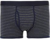 Sunspel Striped Cotton-jersey Boxer Briefs - Gray