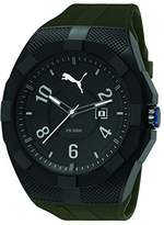 Puma PU-Iconic Men's Watch, Army Green