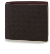 Bottega Veneta Intrecciato Bi-fold Washed-leather Wallet