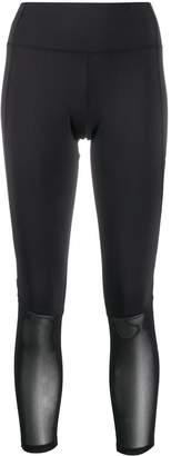 Champion sheer-panel leggings
