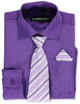 Kidsworld Kids World Little Boys' Dress Shirt with Accessories