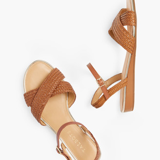 Talbots Daisy Micro Wedge Sandals - Solid