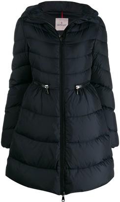 Moncler Cinched Waist Parka Jacket