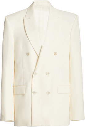 Wardrobe NYC Double-Breasted Wool Blazer