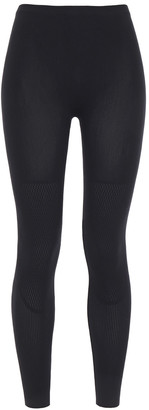 Wolford Electric Affair Paneled Stretch-mesh Leggings
