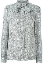 MICHAEL Michael Kors pussybow blouse - women - Silk - S