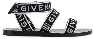Givenchy Ankle Strap Sandals in Black & White | FWRD