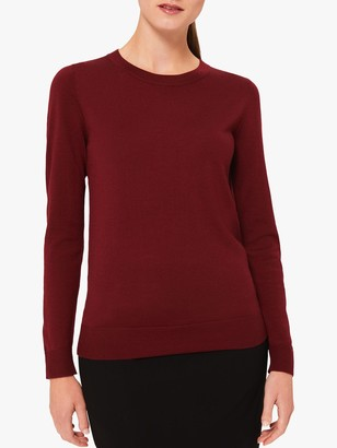 Hobbs Penny Merino Round Neck Sweater