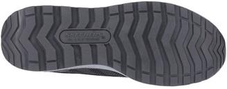 Skechers Bulkin Lyndale Workwear Slip Resistant Toe Cap Trainer - Black