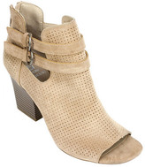 White Mountain Women's Sage Peep Toe Bootie