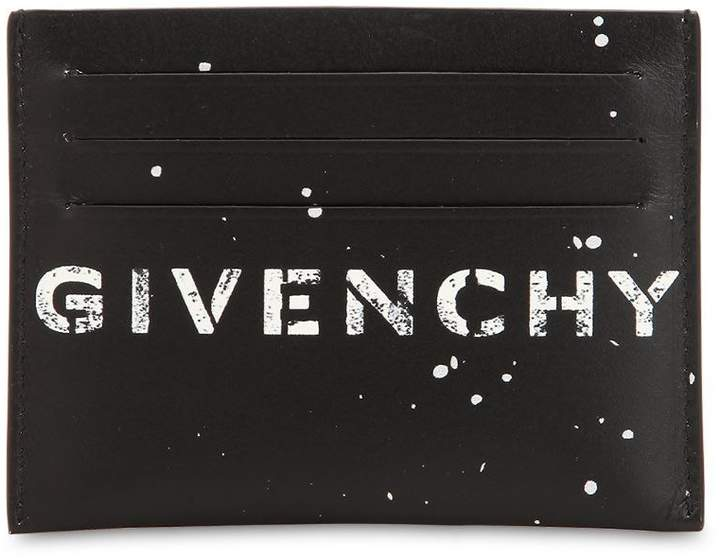 Givenchy Printed Leather Card Holder