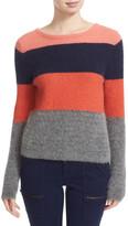 Equipment Calais Stripe V-Back Sweater