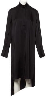 Petar Petrov Black Synthetic Dresses