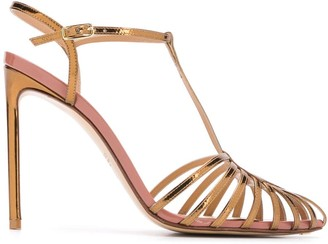 Francesco Russo Strappy Stiletto Sandals