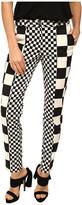 Love Moschino Checker Print Pant