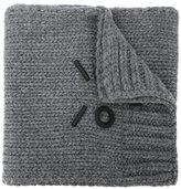 Fendi logo appliqué scarf