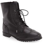 Sudini Women's 'Felicia' Lace-Up Boot