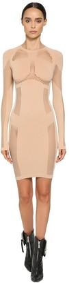 Unravel Active Stretch Mesh Seamless Mini Dress