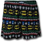 Briefly Stated Men's Batman Ugly Sweater Boxer Shorts, Assorted