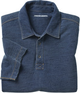 Johnston & Murphy Slub-Knit Polo