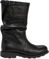 Bikkembergs 20mm Mid Dyed Leather Boots