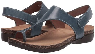 Dansko Reece (Stone Waxy Burnished) Women's Sandals