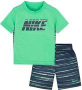 Nike Toddler Boy GFX Sublimated Print Tee & Shorts Set